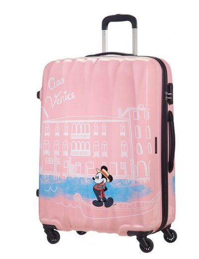 AT Spinner 4 wheels Disney Legends 75 cm Take Me Away Mickey Venice - Product Comparison
