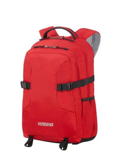 Urban Groove Laptop Backpack 35.8cm/14.1inch Red - Kid's school backpacks up 4 grade