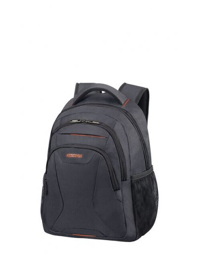 At Work Laptop Backpack 38.5cm/14.1″ Grey/Orange - Kids' series