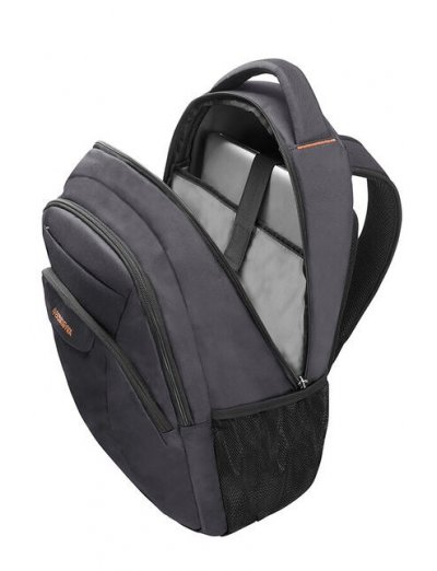 At Work Laptop Backpack 38.5cm/14.1″ Grey/Orange - Product Comparison