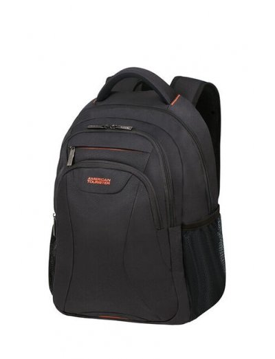 At Work Laptop Backpack 39.6cm/15.6″ Black/Orange - Kids' series