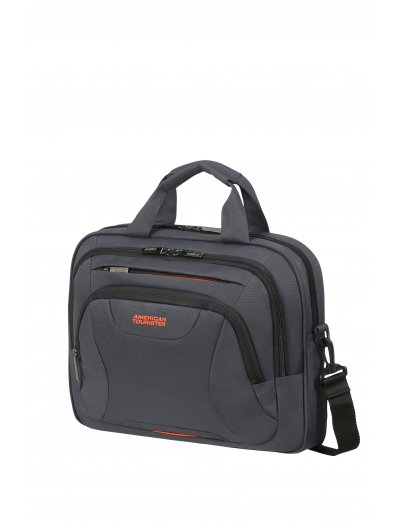 At Work Laptop Bag 33.8-35.8cm/13.3-14.1″ Grey/Orange - Product Comparison