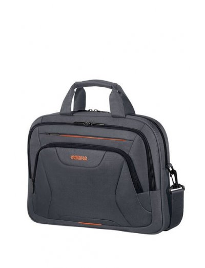 At Work Laptop Bag 39.6cm/15.6″ Grey/Orange - Product Comparison