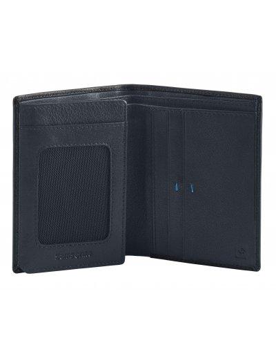 Spectrolite Slg W S 4CC + H FL + 2W + 2C Black/Night Blue - Men's leather wallets