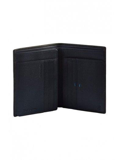 Spectrolite Slg W 6CC + H FL + 2W + 2C Black/Night Blue - Men's leather wallets