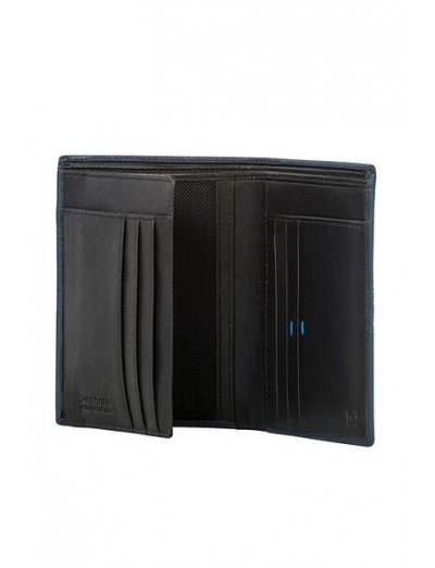 Spectrolite Slg W 6CC + H FL + 2W + 2C Night Blue/Black - Leather wallets