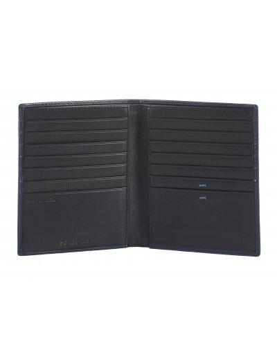 Spectrolite Slg W 14CC + 2C Night Blue/Black - Men's leather wallets