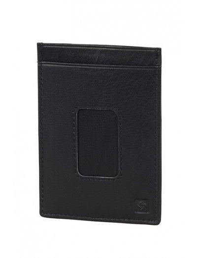 Spectrolite Multi Cc Holder Black/Night Blue - Men's leather wallets