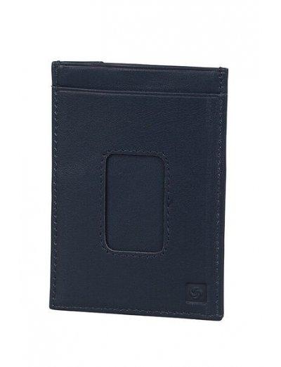 Spectrolite Multi Cc Holder Night Blue/Black - Men's leather wallets