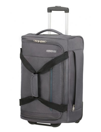 Heat Wave 2-wheel Duffle 55cm Charcoal Grey - Duffles