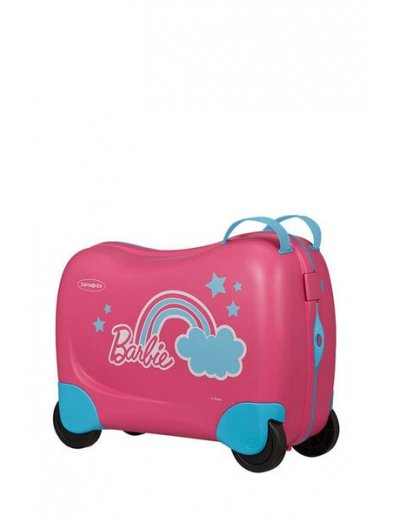 Dreamrider Spinner (4 wheels) Barbie Pink Dream - Kids' suitcases
