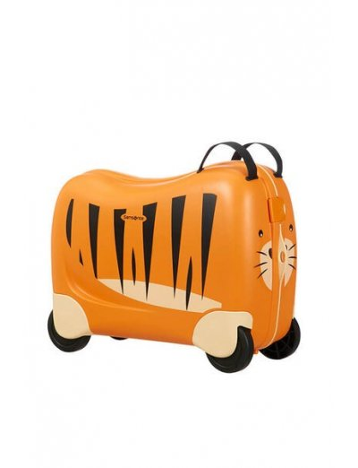 Dreamrider Spinner (4 wheels) Tiger - Kids' suitcases
