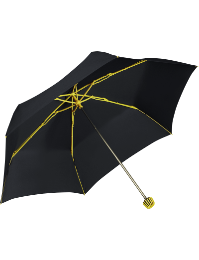 Rainflex 3 Sect. Manual Black/Yellow - Ladies umbrella