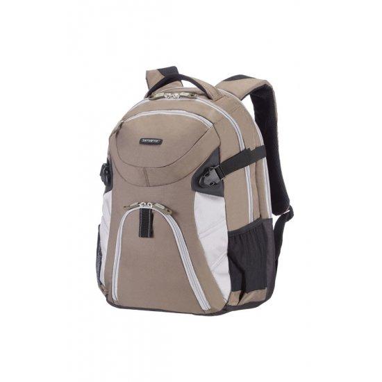 Раница за 17 инча лаптоп Wanderpacks  размер L  в кафяво и сиво