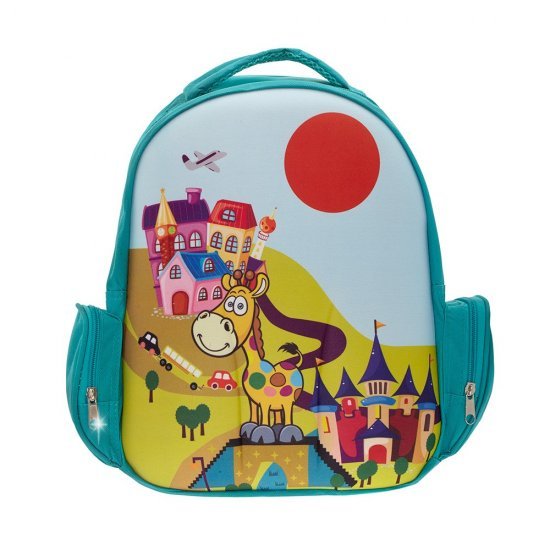 "AmericanKids Backpack ""3D Bag Giraffe"""