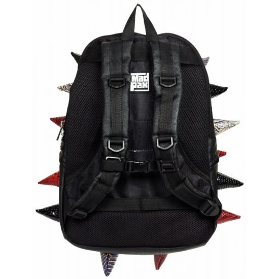 "AmericanKids Backpack ""Gator Full"" black multi"
