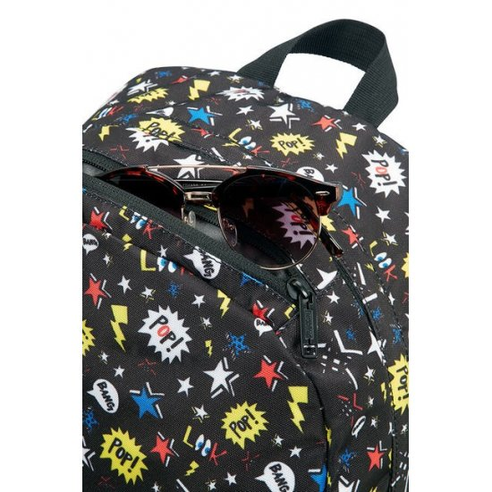 Urban Groove Lifestyle Backpack Pop Black