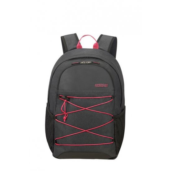 Road Quest Laptop Backpack 15.6inch Grafit/Pink