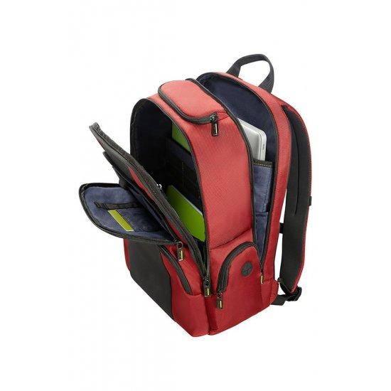 Infinipak Laptop Backpack 39.6cm/15.6inch Red/Black