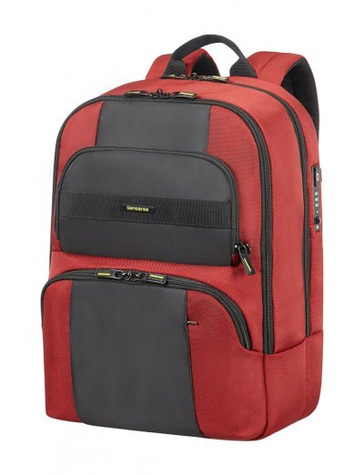 Infinipak Security Laptop Backpack 39.6cm/15.6inch Red/Black - Product Comparison
