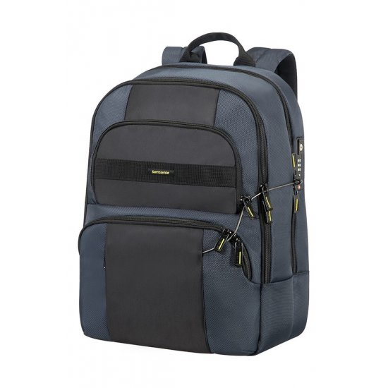 Infinipak Security Laptop Backpack 39.6cm/15.6inch Blue/Black