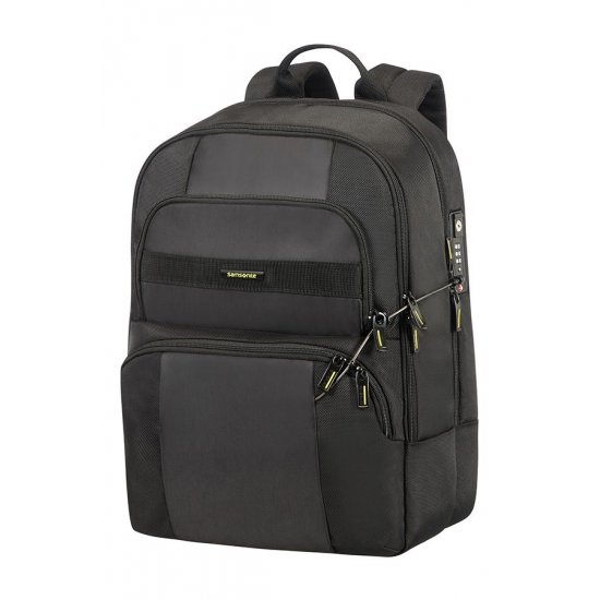 Infinipak Security Laptop Backpack 39.6cm/15.6inch Black