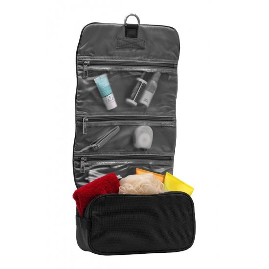 Outspeadable toiletry case New Spark graphite color