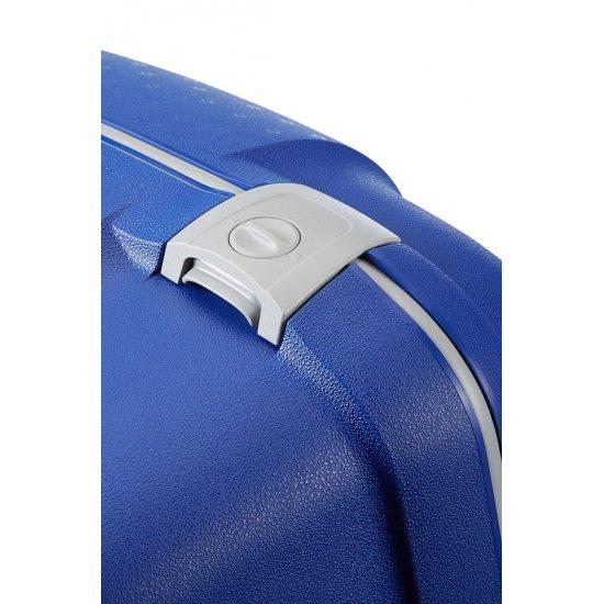 Vivid Blue Spinner on 4 wheels Aeris 75cm.