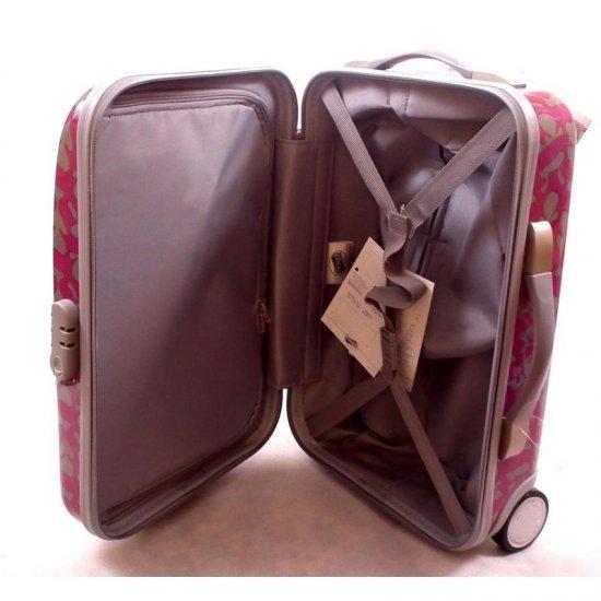 Розова количка за ръчен багаж на 2 колелца AT Jazz 55 см