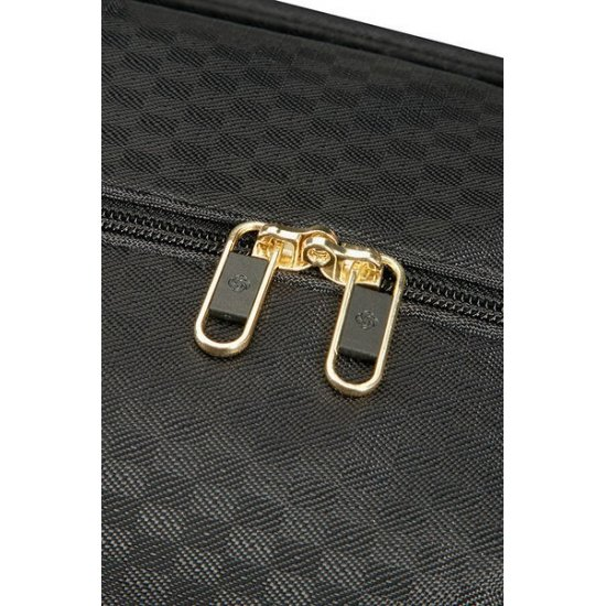 Uplite Duffle with wheels 55cm Black/Gold