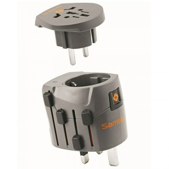 Samsonite World Adaptor Grounded 2