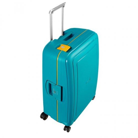 S'Cure Spinner 4 wheels 69 cm medium size Caribbean Blue/Pineapp. Yellow