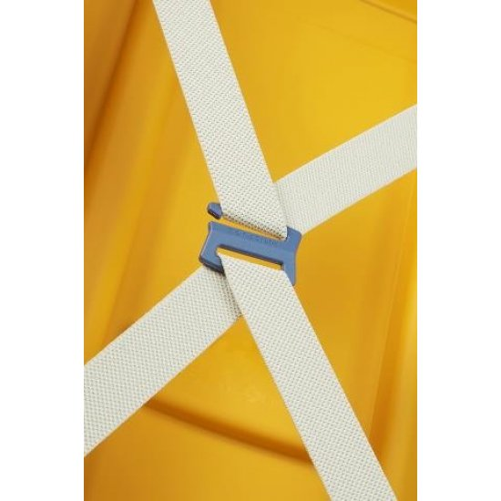 S'Cure Spinner 4 wheels 75 cm large size Pineapple Yellow/Caribb Blue