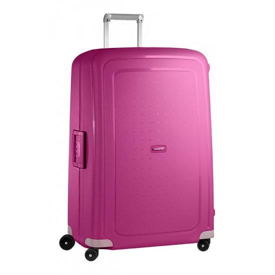 S'Cure Spinner 4 wheels 75 cm large size Fuchsia