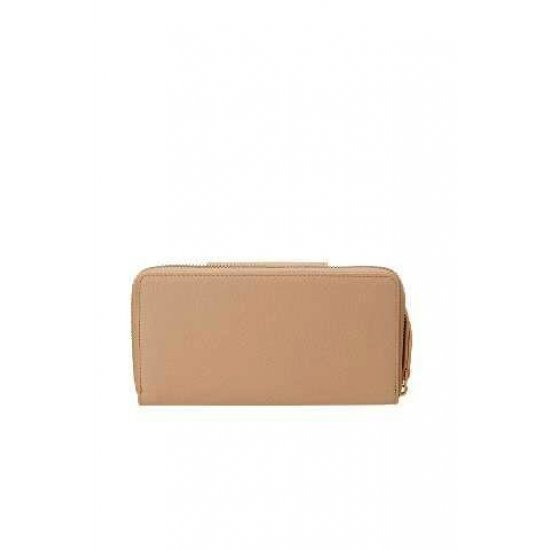 Seraphina ladie's wallet made out of 100% PU Rose Beige
