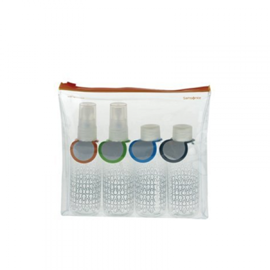 Carry-on Toiletry Bottle Set