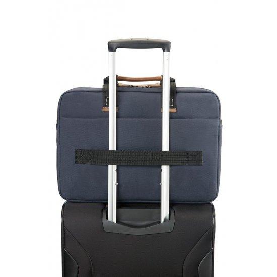 Sideways Laptop Bag 15.6inch Blue/Orange