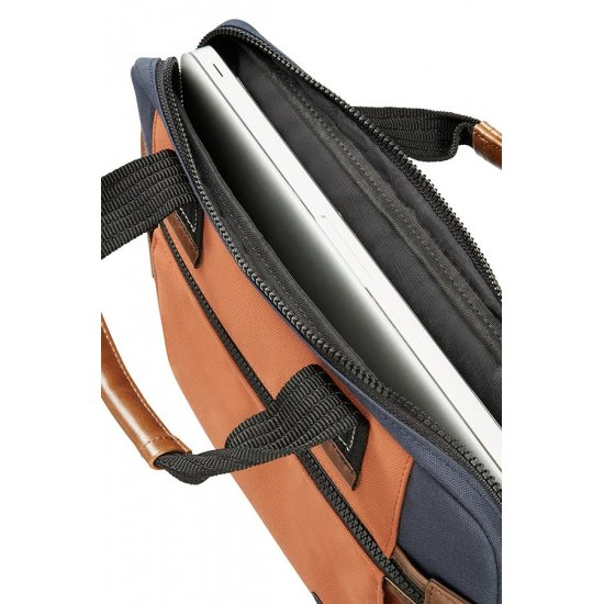 Sideways Laptop Sleeve 15.6inch Blue/Orange