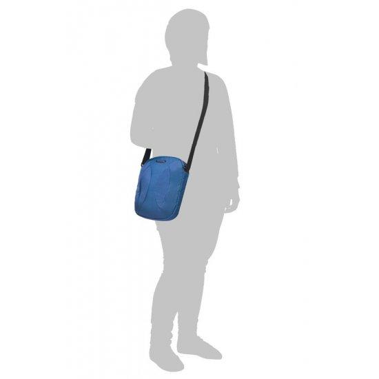 Blue cross-over shoulder bag 9.7