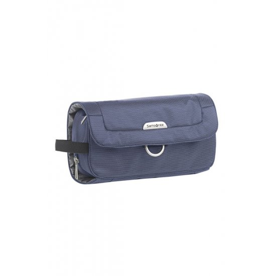 Blue outspeadable toiletry case New Spark