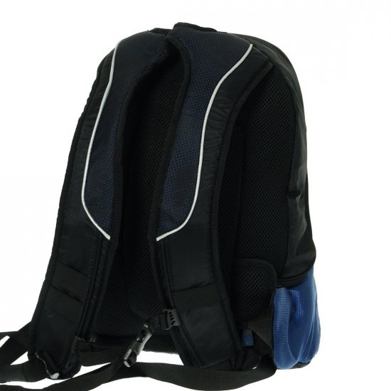 Blue backpack laptop compartment 14.1