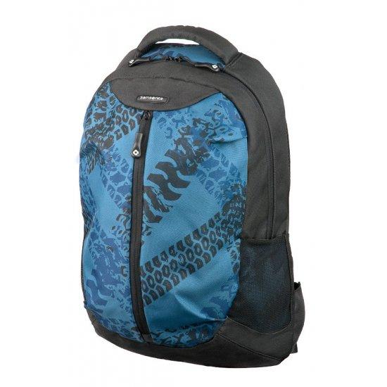 Blue backpack for 16.4
