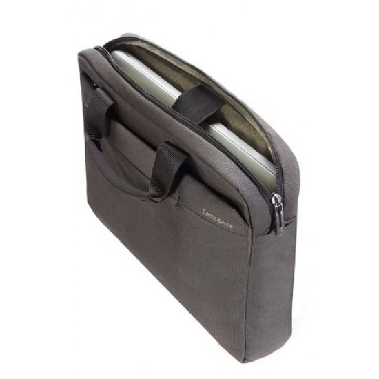 Gray computer bag Network 2 11-12.1