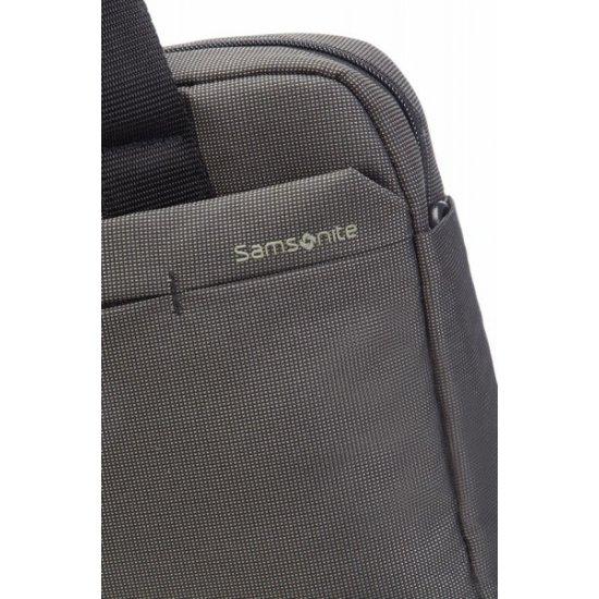Gray computer bag Network 2 13-14.1