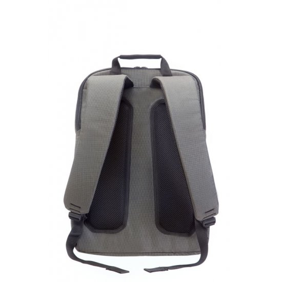 Gray computer backpack Network 2 15-16