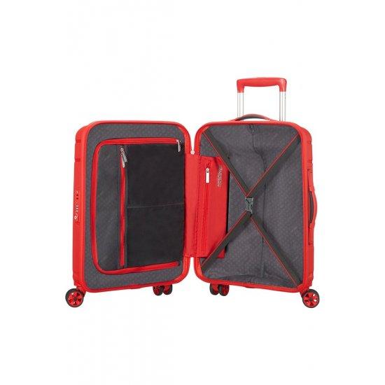 Skytracer 4-wheel Spinner suitcase 68cm Formula Red