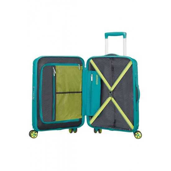 Skytracer 4-wheel Spinner suitcase 68cm Spring Green