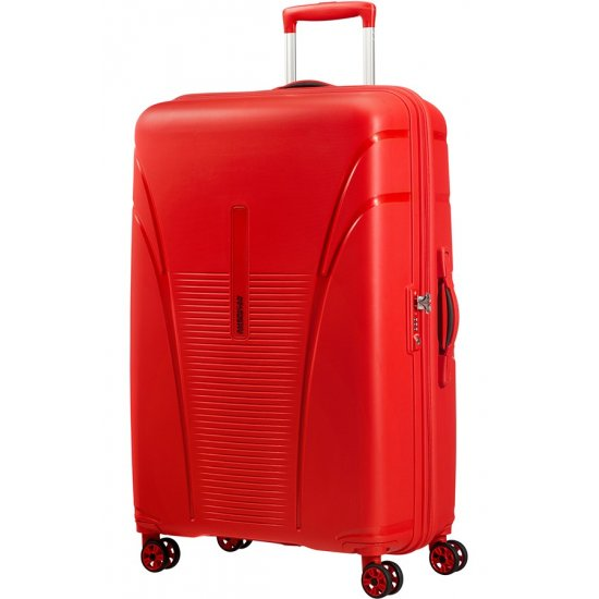 Skytracer 4-wheel Spinner suitcase 77cm Formula Red