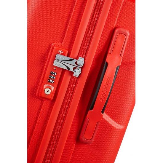 Skytracer 4-wheel Spinner suitcase 82cm Formula Red