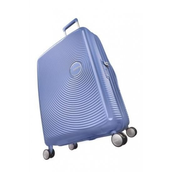 Soundbox Spinner (4 wheels) 67cm Exp Denim Blue